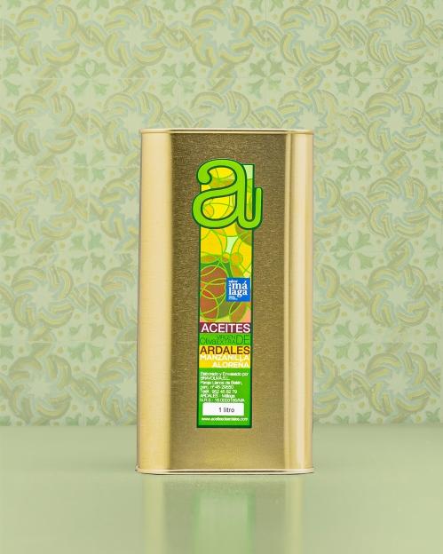 MANZANILLA ALOREÑA rūšies alyvuogių aliejus Virgen Extra, 1000 ml
