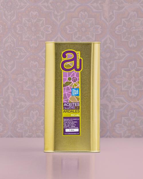 PICUAL rūšies alyvuogių aliejus Virgen Extra, 1000 ml