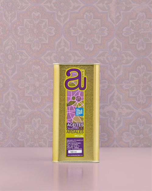 PICUAL rūšies alyvuogių aliejus Virgen Extra, 500 ml